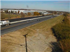 New pavement on Bypass 4, North of Port Union Road