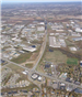 Recent aerial photograph looking North from the intersection of Route 4 and the Bypass
