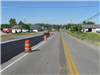 Crews pave along Port Union on the west side of the Bypass