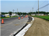 Port Union Road begins to take shape to the west of the Bypass