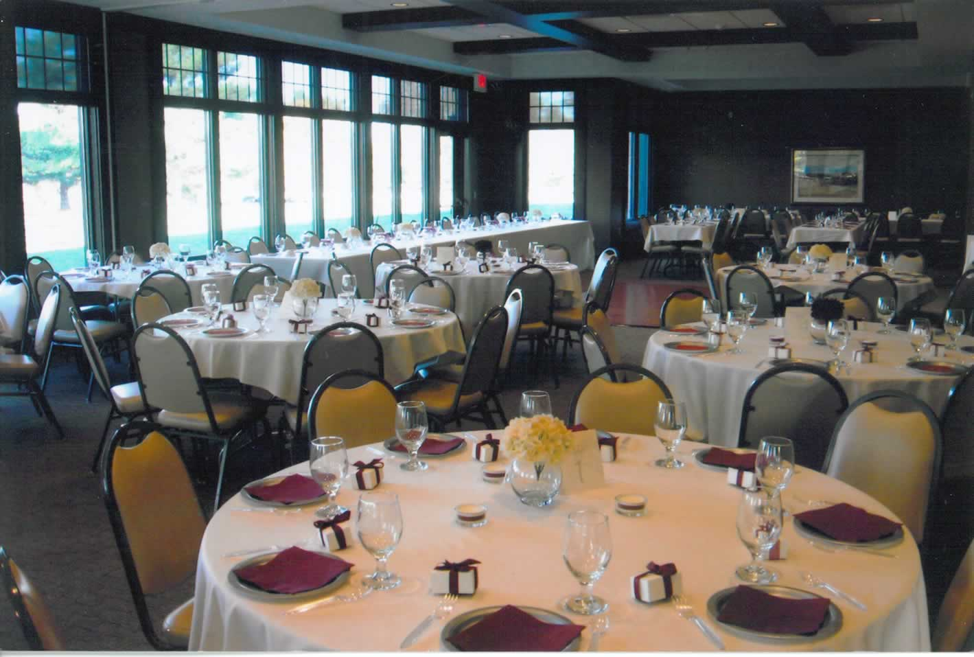 Phalen Center banquet center dining room