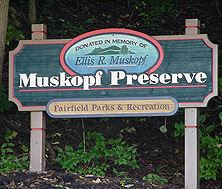 Muskopf Preserve sign