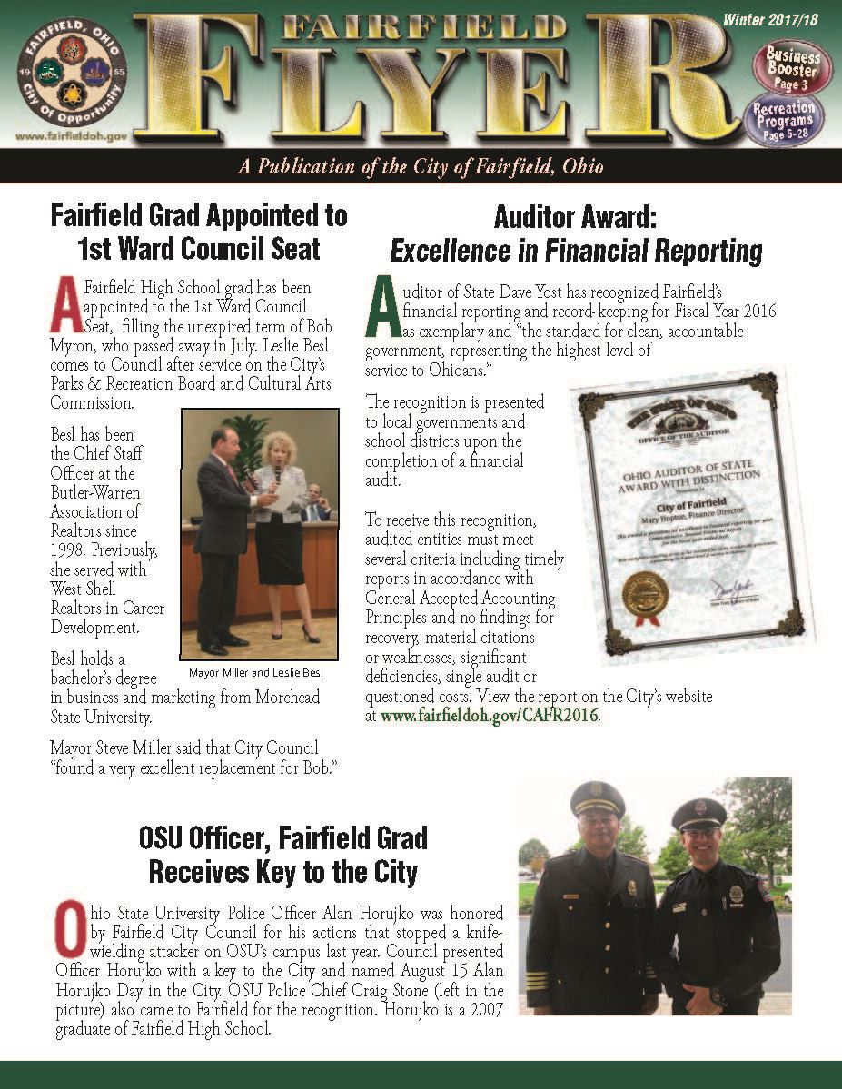 fairfield oh official website