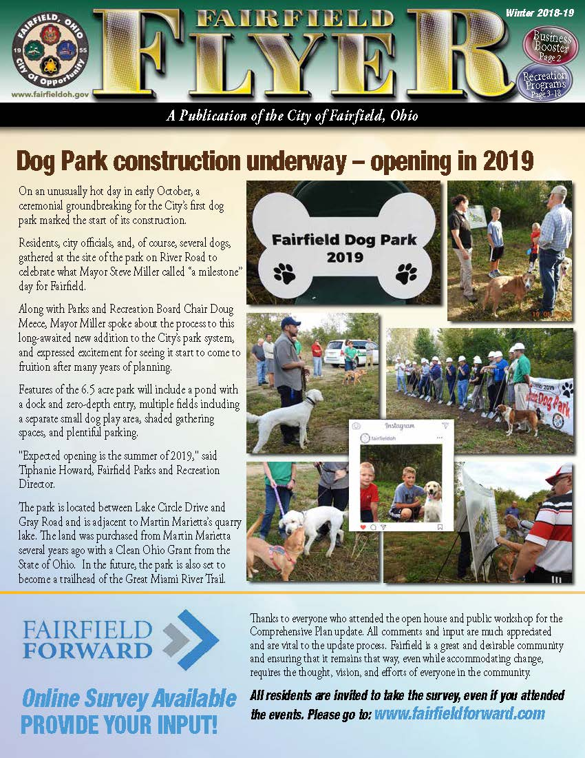 Fairfield Flyer Jan-Feb 2019 COVER