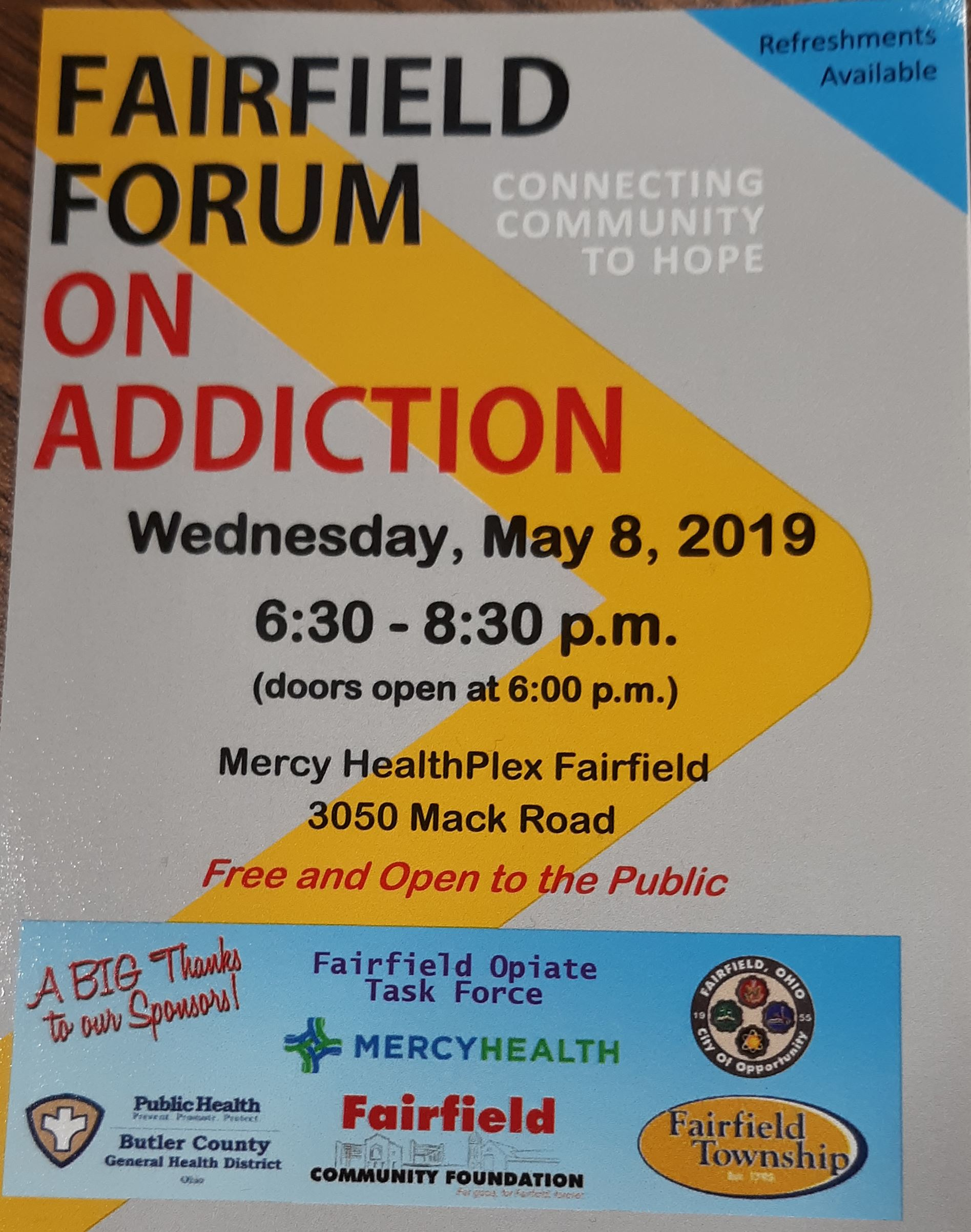 forum on addiction 5-2019