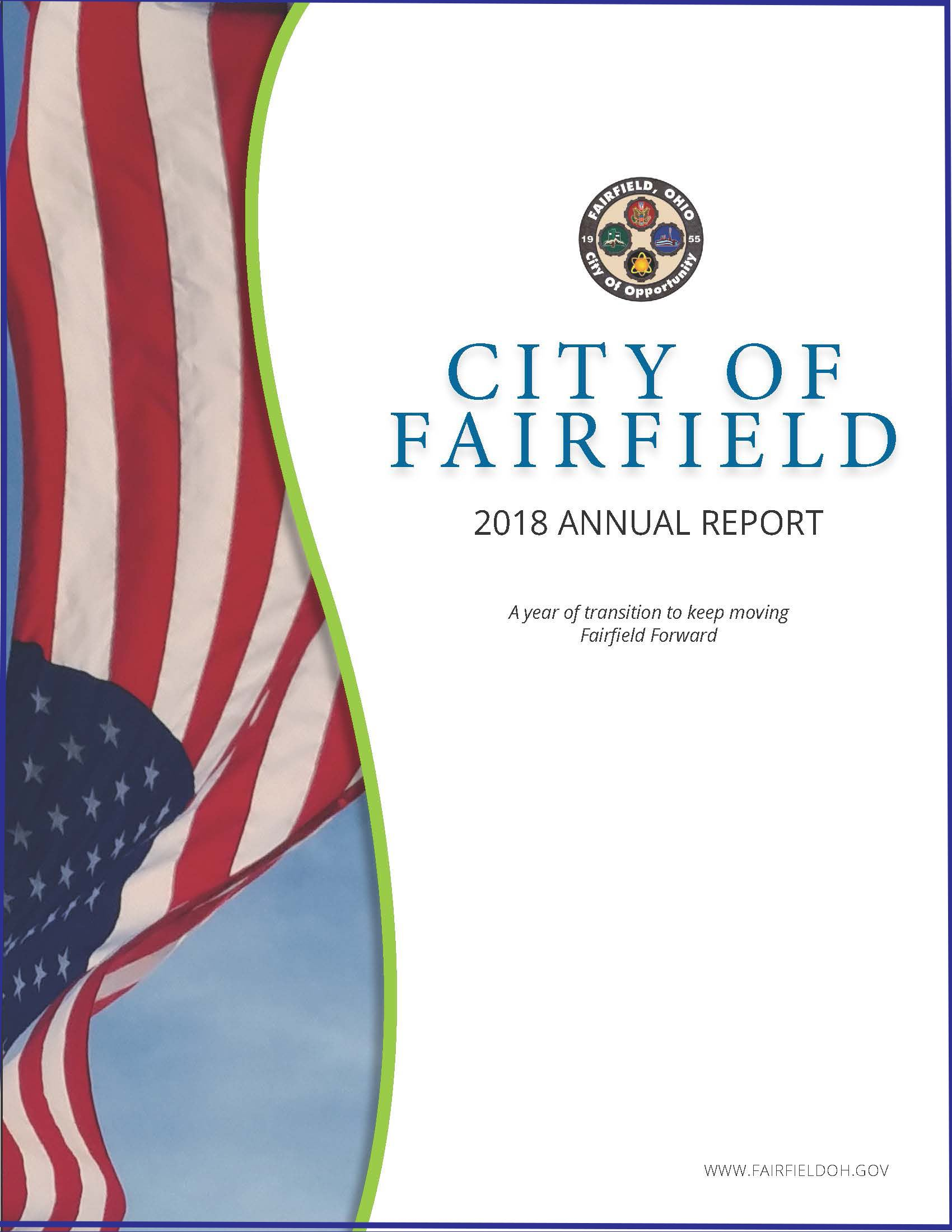 2018 Fairfield Annnual Report FRONT COVER