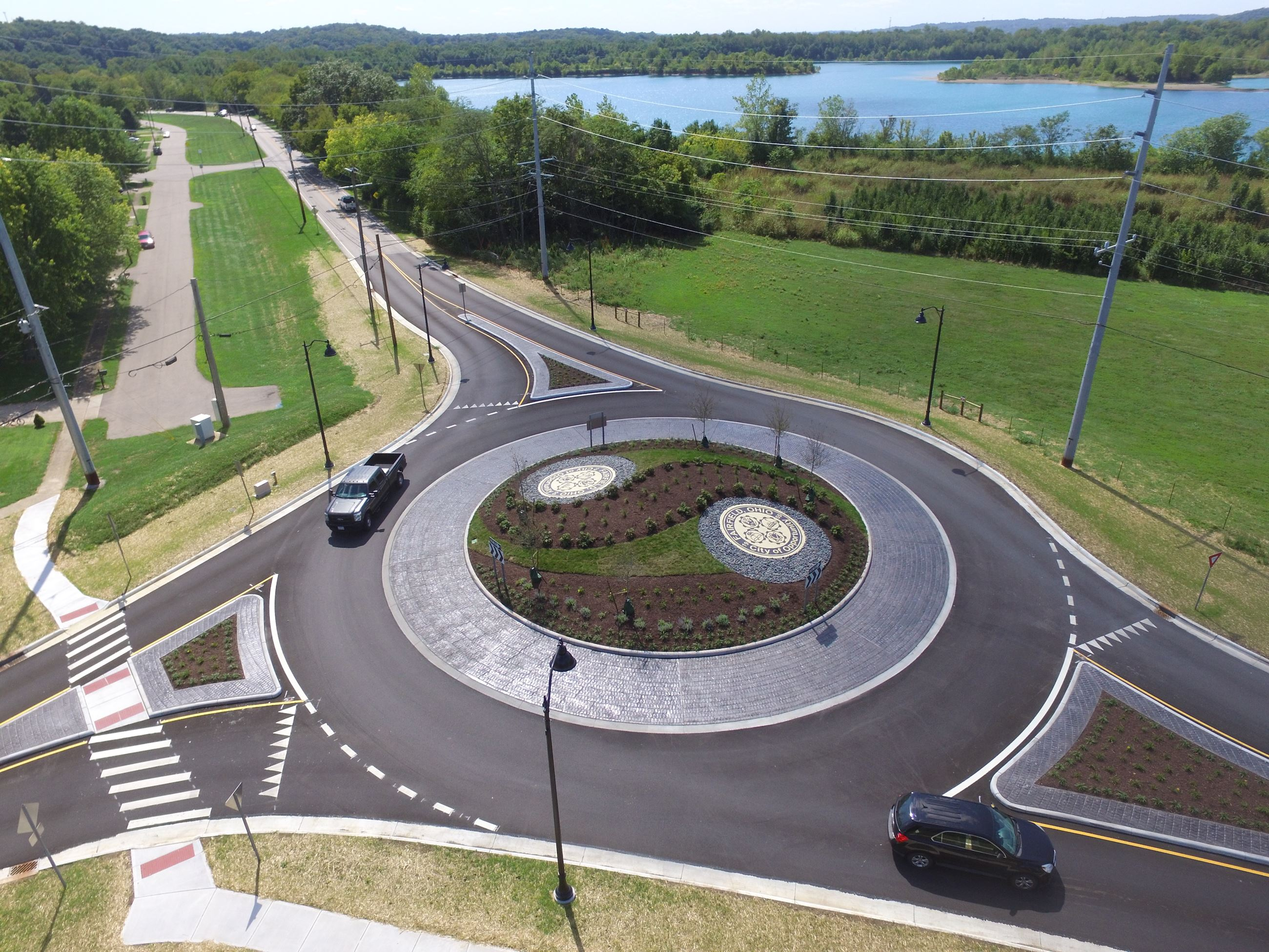 Completed Roundabout 08/28/19