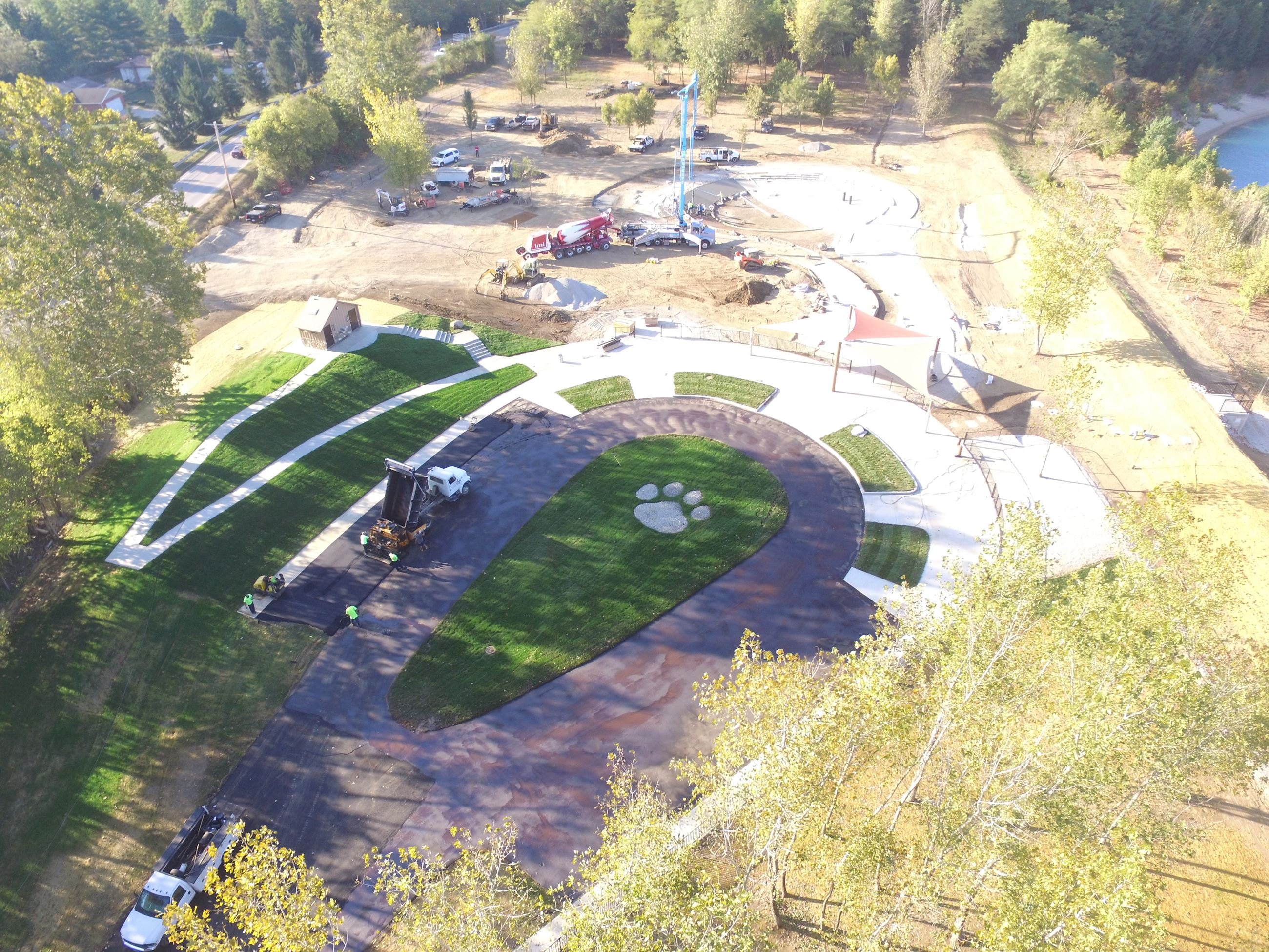 Dog Park Construction 10-03-19