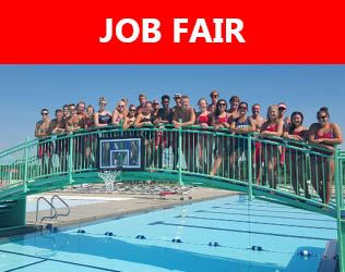 job fair button