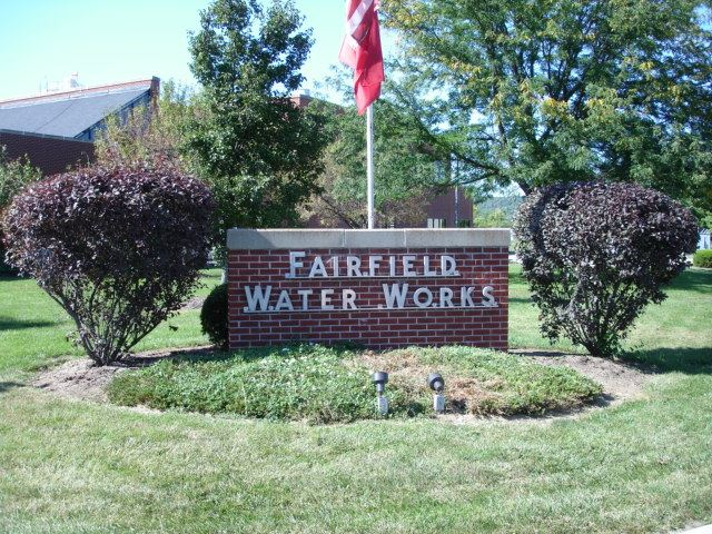 Fairfield Water Works Sign