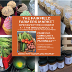 Fairfield Farmers Market is each Wednesday