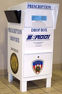 Prescription Drop Box