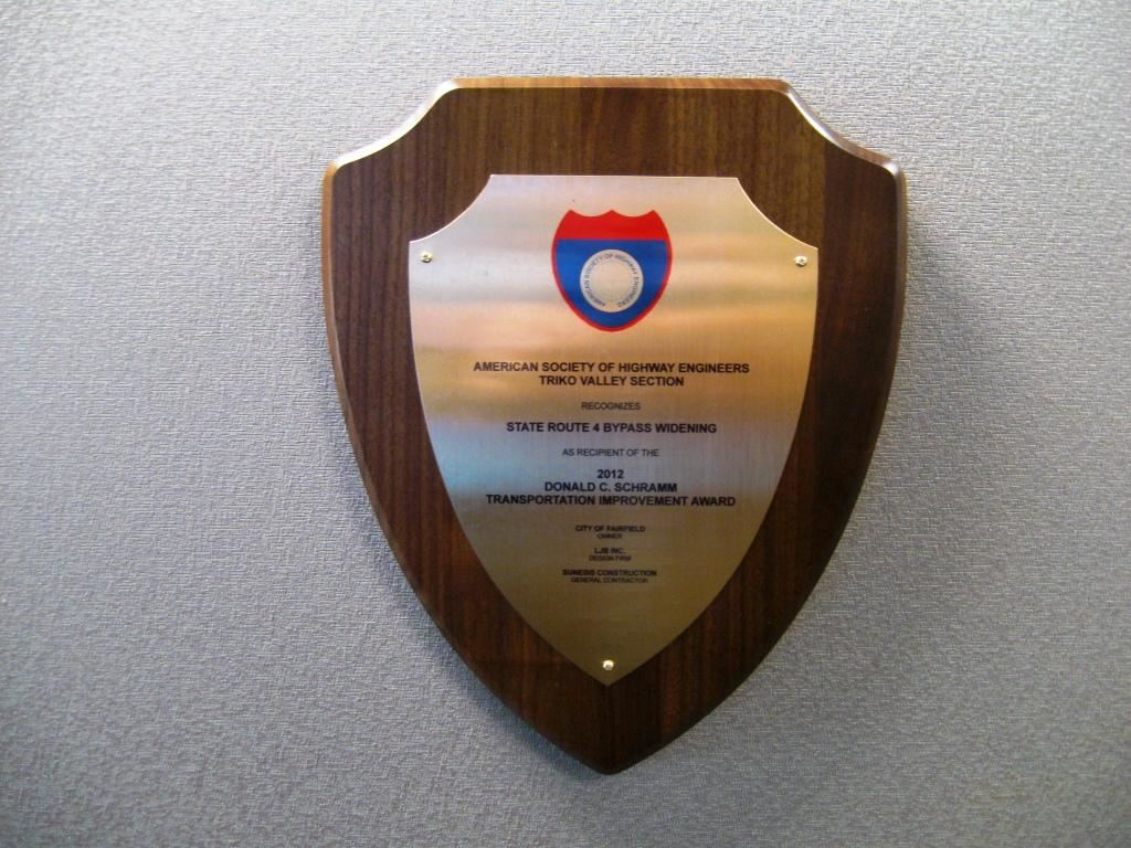 American Society of Highway Engineers Triko Valley Section Plaque
