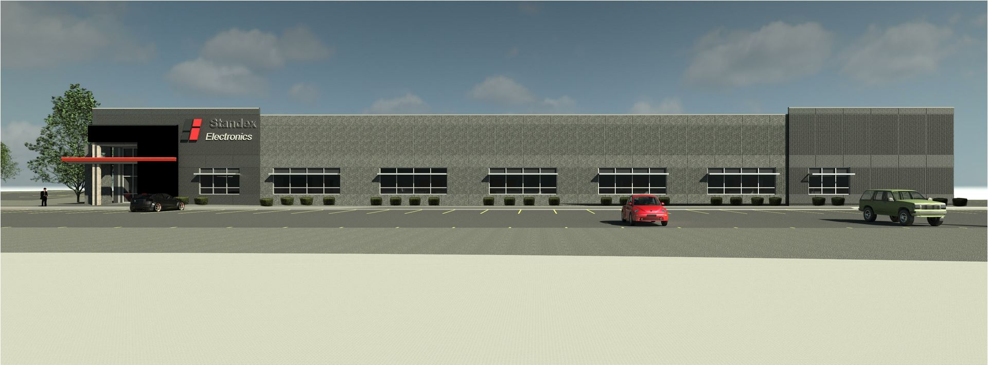 STANDEX Rendering - Front Center