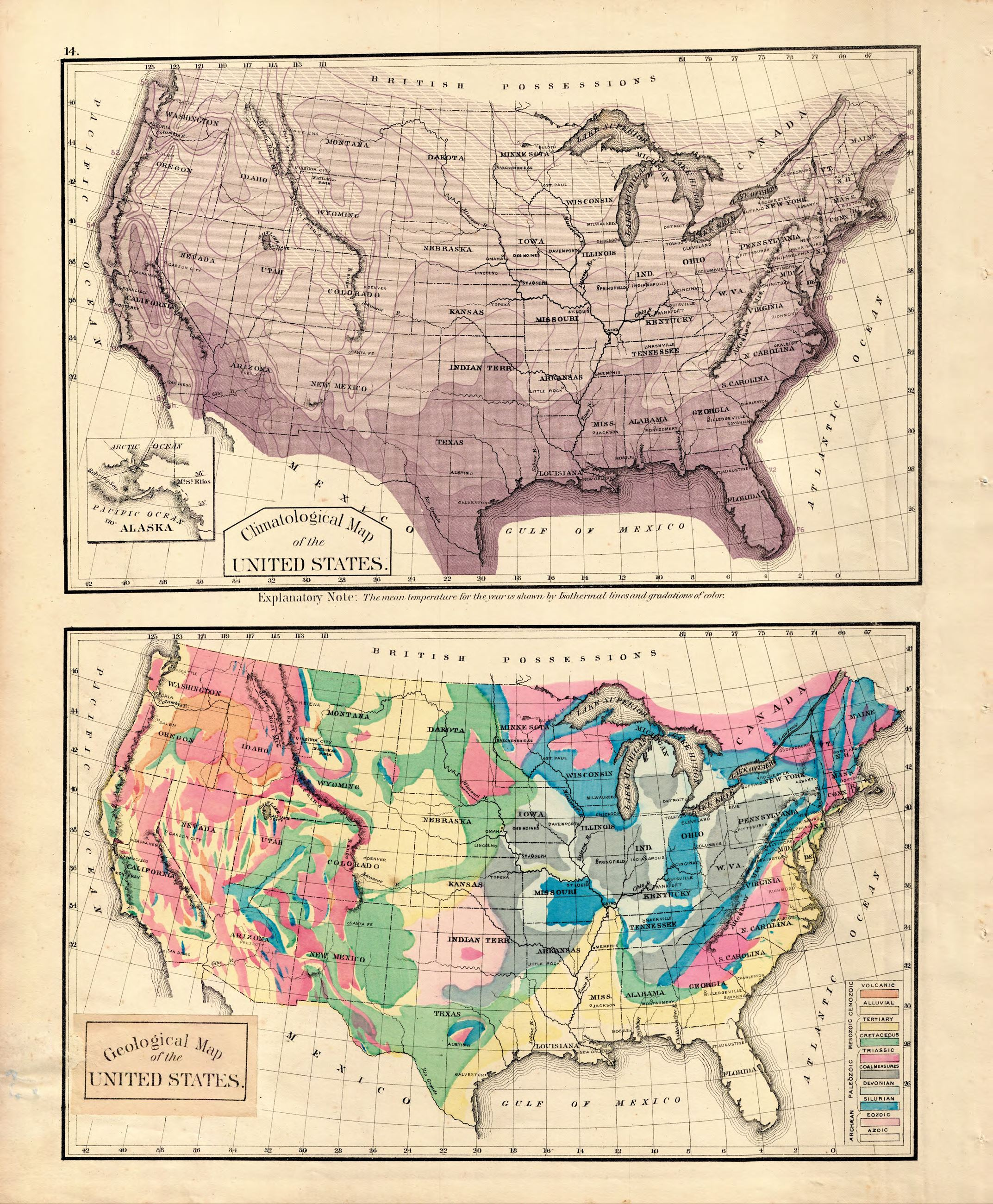 7 14 Climatological and Geological Maps