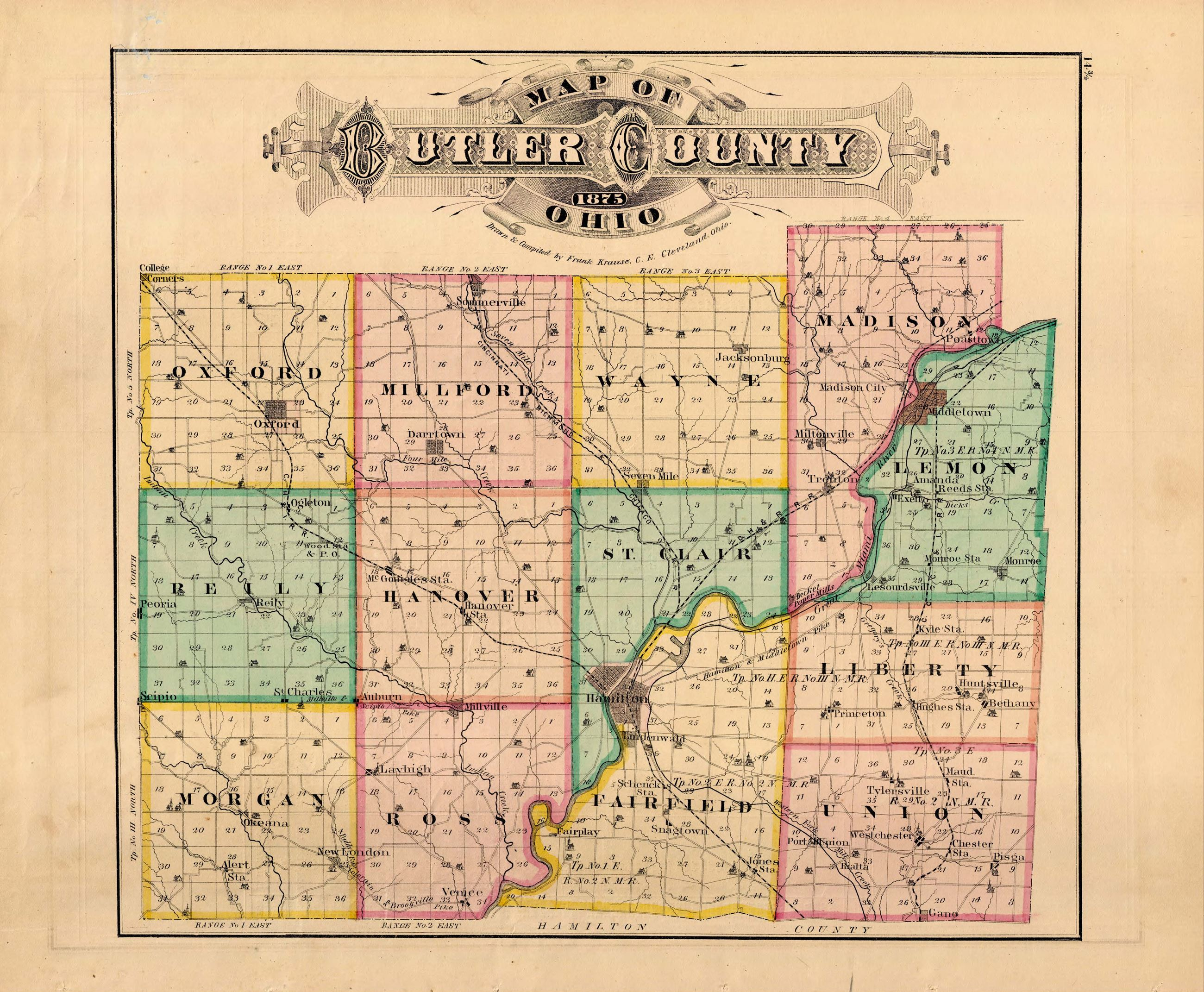 9 14 3-4 Butler County Map