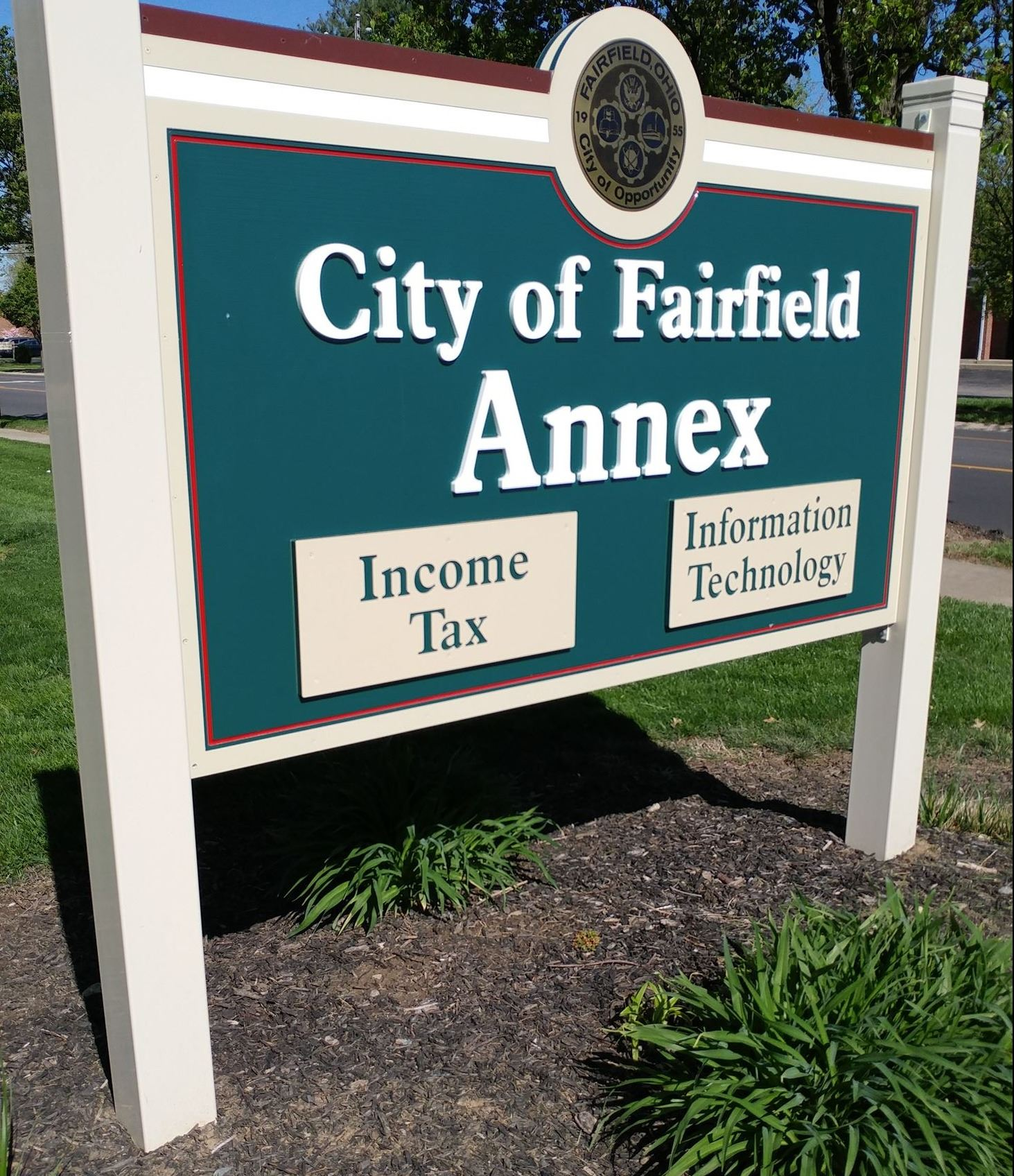 city annex sign