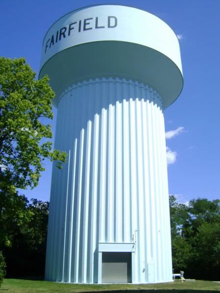 Fairfield water tower